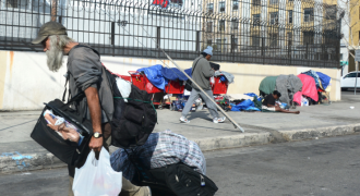 Wealthy Elitists Freak Out as Hordes of Homeless People Take Over West Coast Neighborhoods