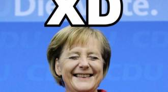 Mama Merkel Praises Self for Destroying Germany by Dumping Genetic Waste on Her People