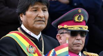 Jewish Army Chief, US Embassy Overthrow Bolivia's Indigenous President for Defying Diktats of World Jewry