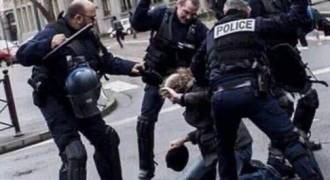 This Russian TV of Extreme Police Brutality Against Yellow Vests in Paris Will Shock You - Western Media Silent
