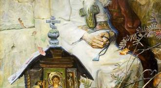 GREAT RUSSIAN ART - 'Prayer' (Pavel Ryzhenko, 2001)