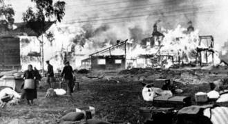 Stalin Burned 100s of 1000s of Russian Peasants' Homes, But Everyone Blames Germany - Another WW2 Anti-German Slander Goes Up in Smoke