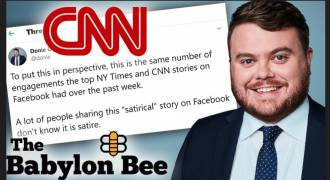 The Fat Schmuck at CNN in Charge of Reporting on 'Dishonesty in Media', Yes, Seriously (Donie O'Sullivan)
