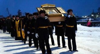 The Russian Navy Is Sending an Icon of Andrew the Apostle on a Tour of its Arctic Bases