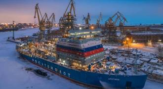 Russia Builds Nuclear Icebreakers the Size of WWII Battleships for $750M, Lockheed Needs $500M for Ships 8X Smaller