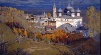 A Great Example of Contemporary Russian Christian Painting - Lyrical Russia (20 Images)