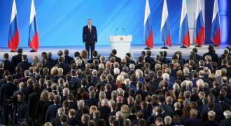 More Babies Is Top National Priority, Putin Declares at 'State of the Union' Speech