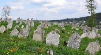 Guilt-Crazed, Gullible German Taxpayers Pay for a Fence for Biggest Jewish Cemetery in Ukraine