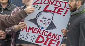 WATCH: Zionists in Pittsburgh Assault Anti-War Protesters for Criticizing Israel