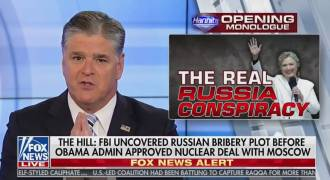 Sean Hannity Is Doing a Great Job Covering RussiaHoax (Video)