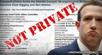 No, Facebook Is NOT 'Private', Their Censorship Arm Is Government Funded