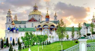 Pochaev - Amazing Ukrainian Fortress-Monastery: 800 Years of War and Prayer