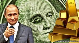Russia's Gold & Foreign Reserves Surge for Third Consecutive Year