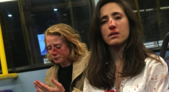 Karma: Passingly Attractive Lesbians Beat Up by Minority Men; Pen Article Blaming Whitey