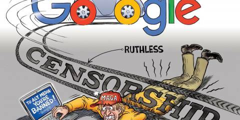 Google - Facebook vs. America
