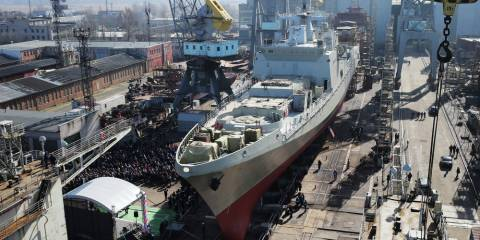 India Agrees $2.2bn Deal for Four Russian Frigates