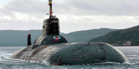 a Kuzbass nuclear-powered submarine