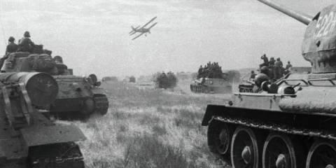 Советские войска ведут боевые действия в первый день войны с Японией | © РИА Новости. Семен Раскин