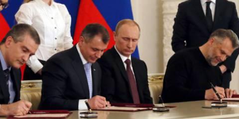 И вот, Крым и Севастополь снова Россия!