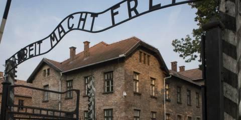 Entrance into Auschwitz-Birkenau Memorial Museum © ITAR-TASS/Anatoly Strunin