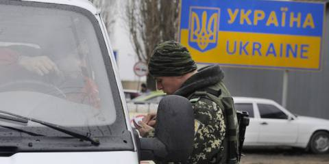Russian-Ukrainian Border checkpoint   Photo: © ITAR-TASS/Dmitry Rogulin
