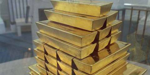 Russia's gold reserves in ruble terms have rocketed from RUB 1.4 trillion in July 2011 to more than RUB 4 trillion today