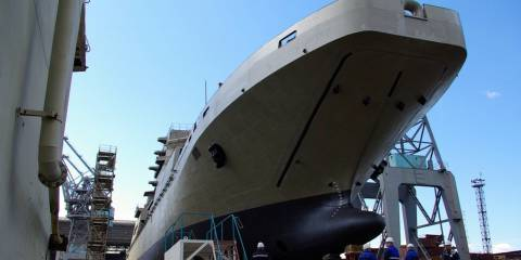 For their cost and quality, Kaliningrad ships will be able to compete with foreign ones