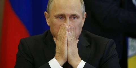 Печальный Путин - бальзам для глаза свидомитых