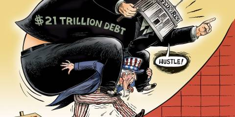 America's Crushing National Debt Will Eventually End Her Insane Empire