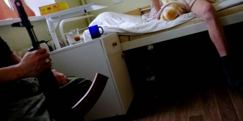 Hospital 21, in Donetsk's Kievsky district
