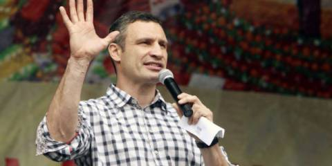 """Given that Vitali Klitschko ran for mayor on a """"clean hands"""" campaign, promising to stamp out corruption - and given that the transactions involve several of his close associates"""