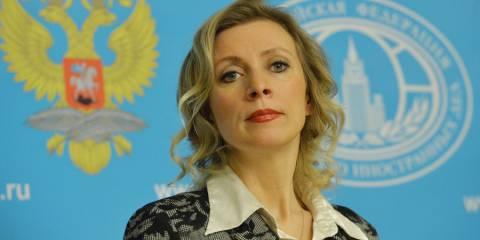 Maria Zakharova, moments before shredding another State Department lie