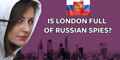 Reporter Sets out to Find Russia's 75,000 London Spies (VIDEO)