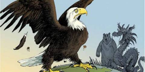 Will America Accept Its Defeat or Challenge the Bear and the Dragon? Part 2: The Middle East