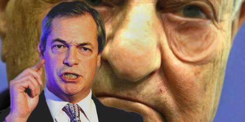 Farage Slams Soros $30 Billion Anti-Democracy Fund