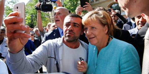 There's an Anti-Immigrant Uprising Sweeping Europe...and Threatening to Unseat Teflon Angela