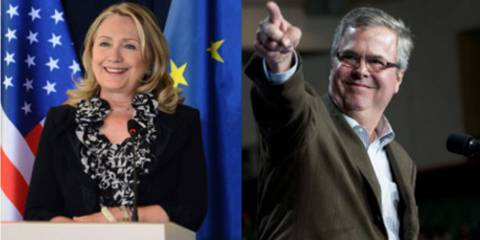 Jeb Bush vs. Hilary Clinton - Either way you lose
