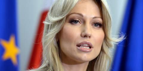 Magdalena Ogorek is standing for the Democratic Left Alliance (SLD)