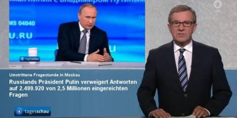 Putins Propagandashow in Moskau