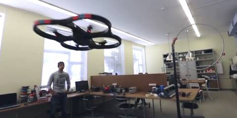 This fantastic flying vehicle is guided directly by signals from human brain