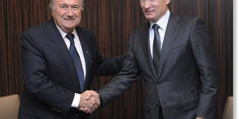 Blatter: targeted for consorting with the enemy | Photo: AP