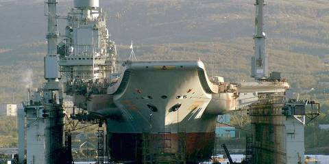 Russian Navy's Dilemma; Troubled Sole Carrier Not Fit For Sea - But Vital to Retaining Naval Aviation Capabilities