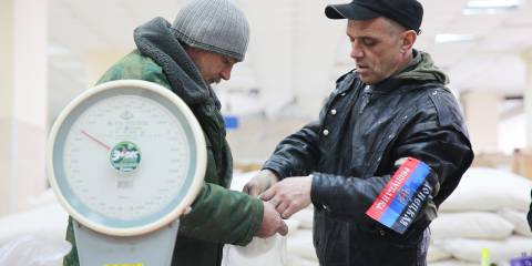 Eastern Ukraine returns to the ruble