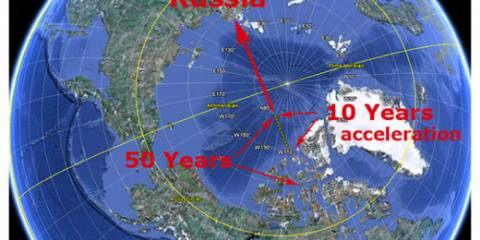 Canadian Intelligence Reports Claim Russia Stealing Magnetic North