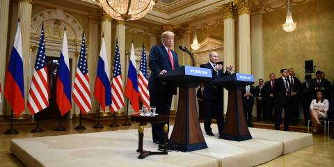 Trump Is Right About Who's to Blame for Bad Relations with Russia