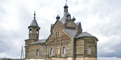 A Magical Siberian Village and Its Amazing Wooden Church - Lost In Time