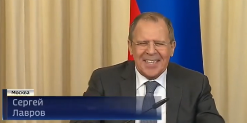 Sergey Lavrov. He has a way with words