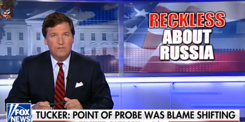 Tucker Carlson Exposes Incompetent Russiagate Obsessed Western Leaders