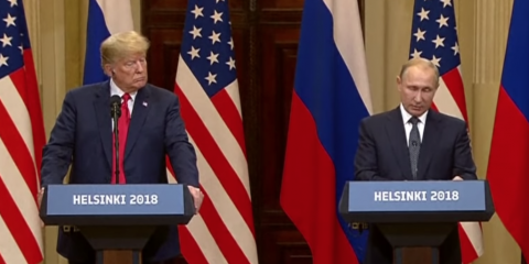 Trump - Putin Press Conference, Full and Unedited (Video, Captions)