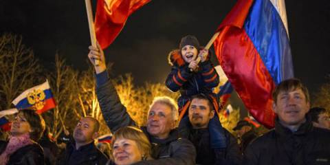 92 Percent for Putin: Crimeans Send Their Regards
